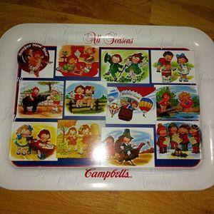"Campbell kids "" all seasons"" tray"